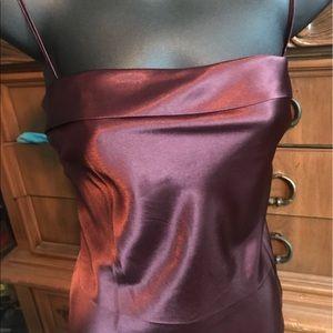 Victoria Secret Burgundy slip/Chemise/babydoll S.